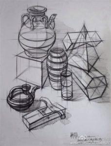 как рисовать предметы насквозь